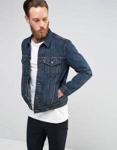 Jacket 1 Levi s Denim Trucker Slim Jacket Sequoia King Dark Sequoia king Levi s Jacket sale_LRG