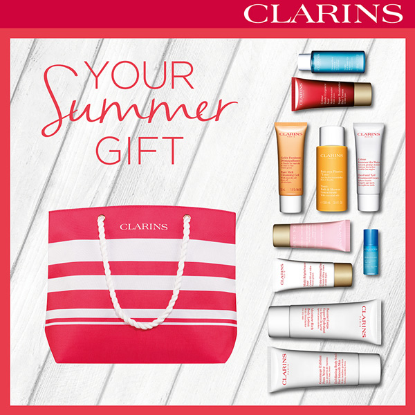 clarins summergift2017